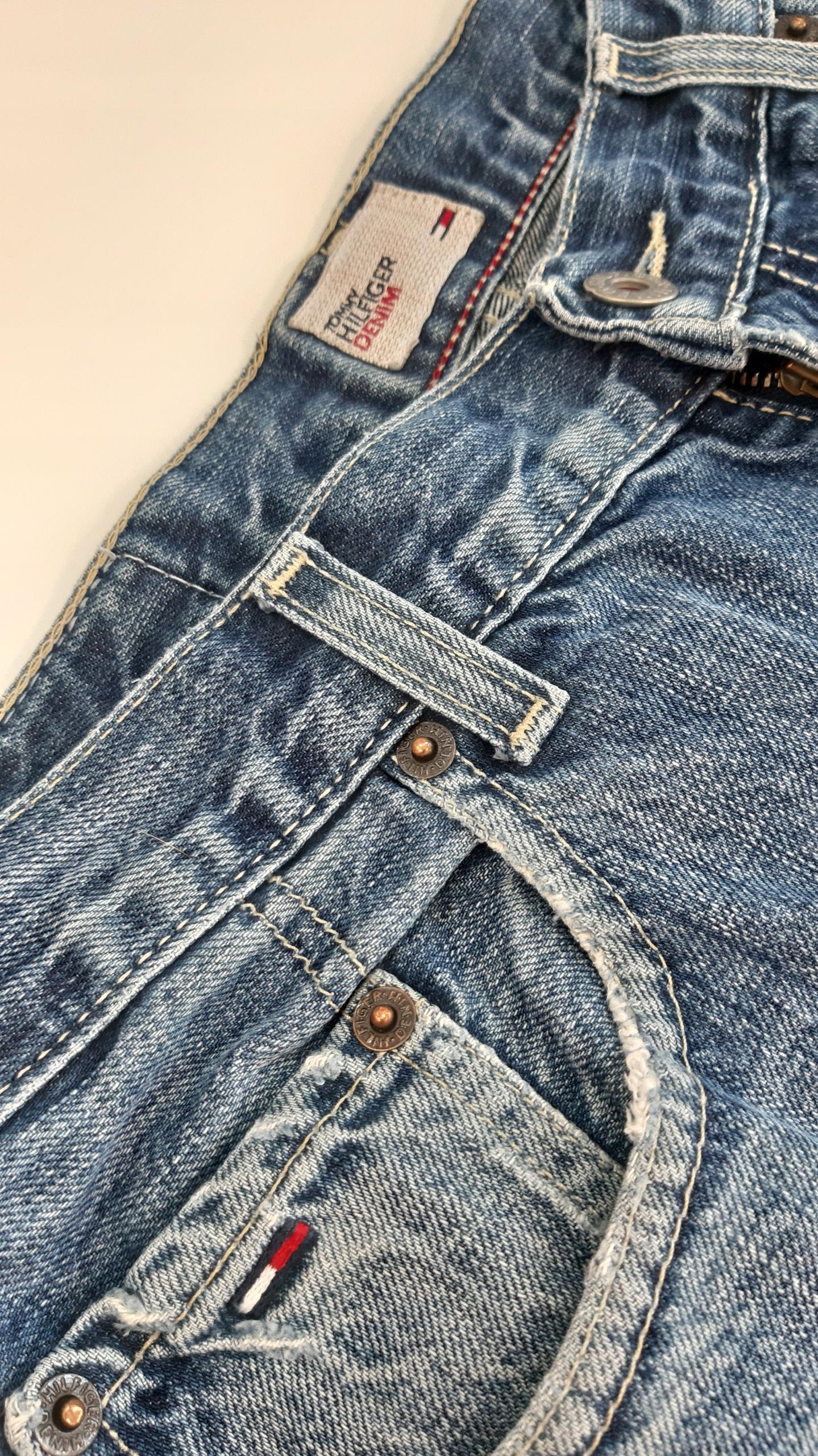 Krótkie jeansowe męskie spodenki Tommy Hilfiger