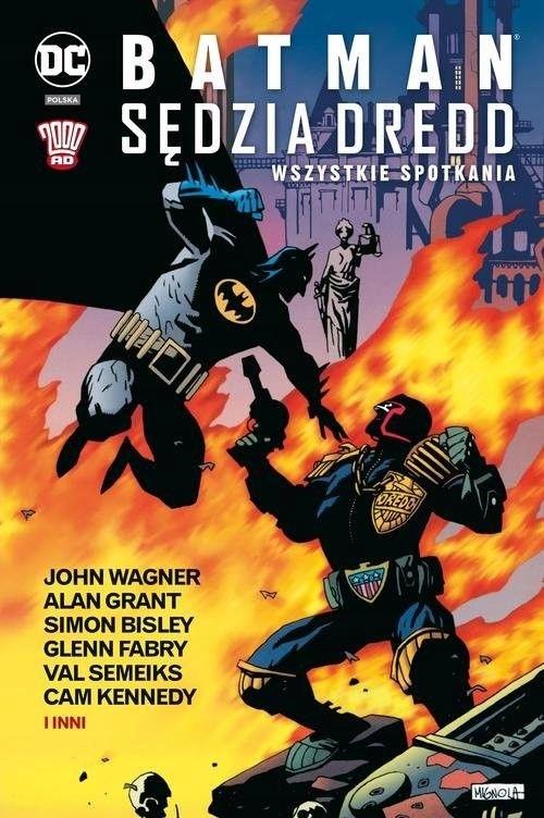 Batman Sędzia Dredd Wszystkie spotkania [Grant Ala