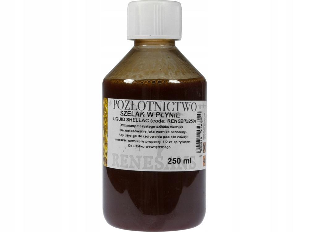 Szelak w płynie werniks ochronny 250 ml - Renesans
