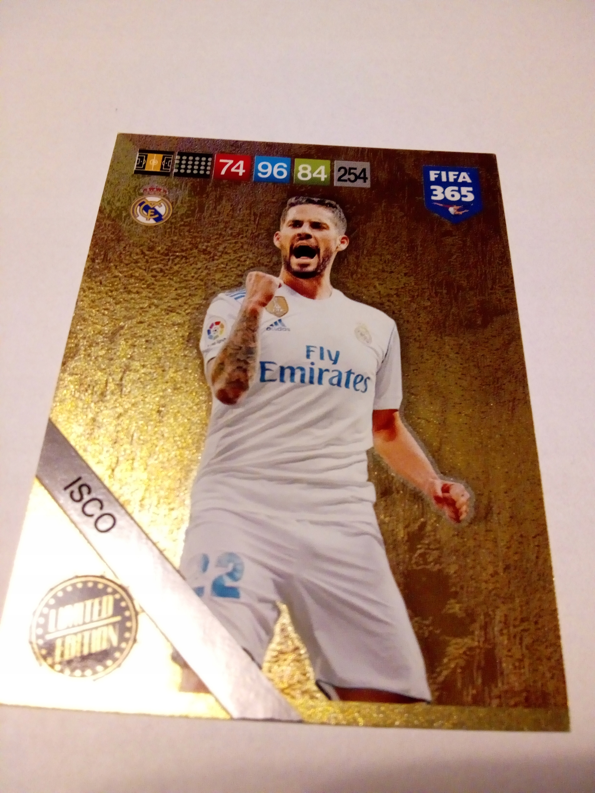 Karta Limited ISCO - FIFA 365 2019