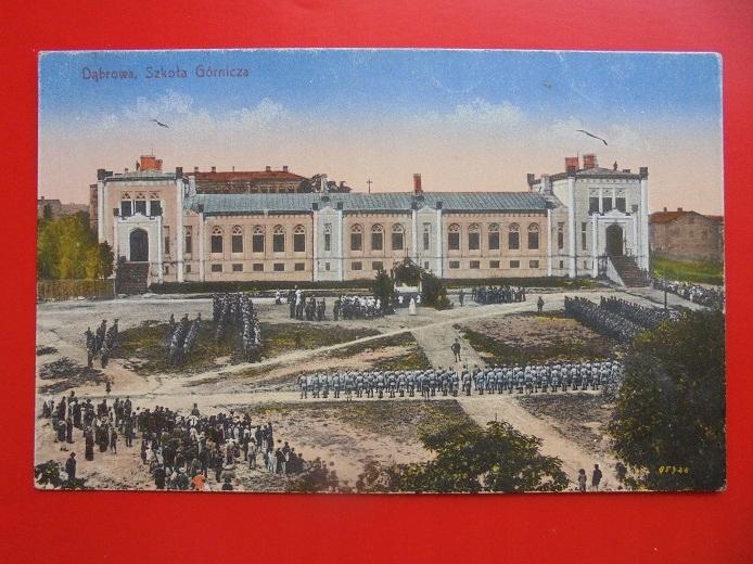 DĄBROWA GÓRNICZA SZKOŁA GÓRNICZA 1919 RRRR
