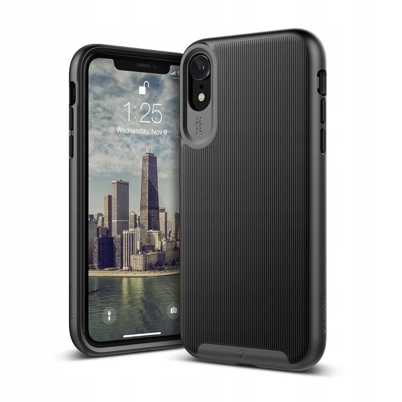 Caseology Wavelength Case - Etui iPhone XR (Black)
