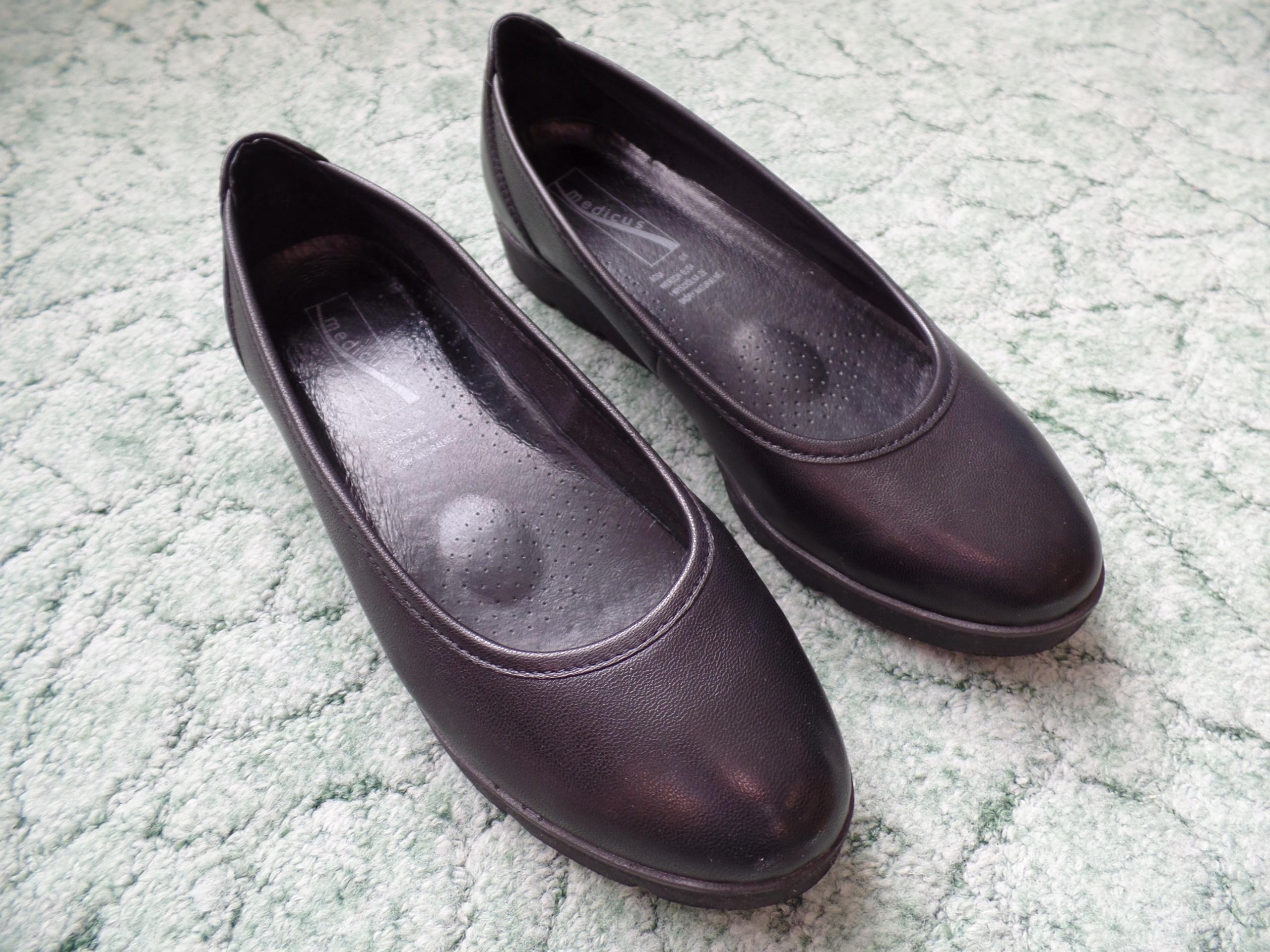 Buty zdrowotne Medicus skóra, 40 jak nowe