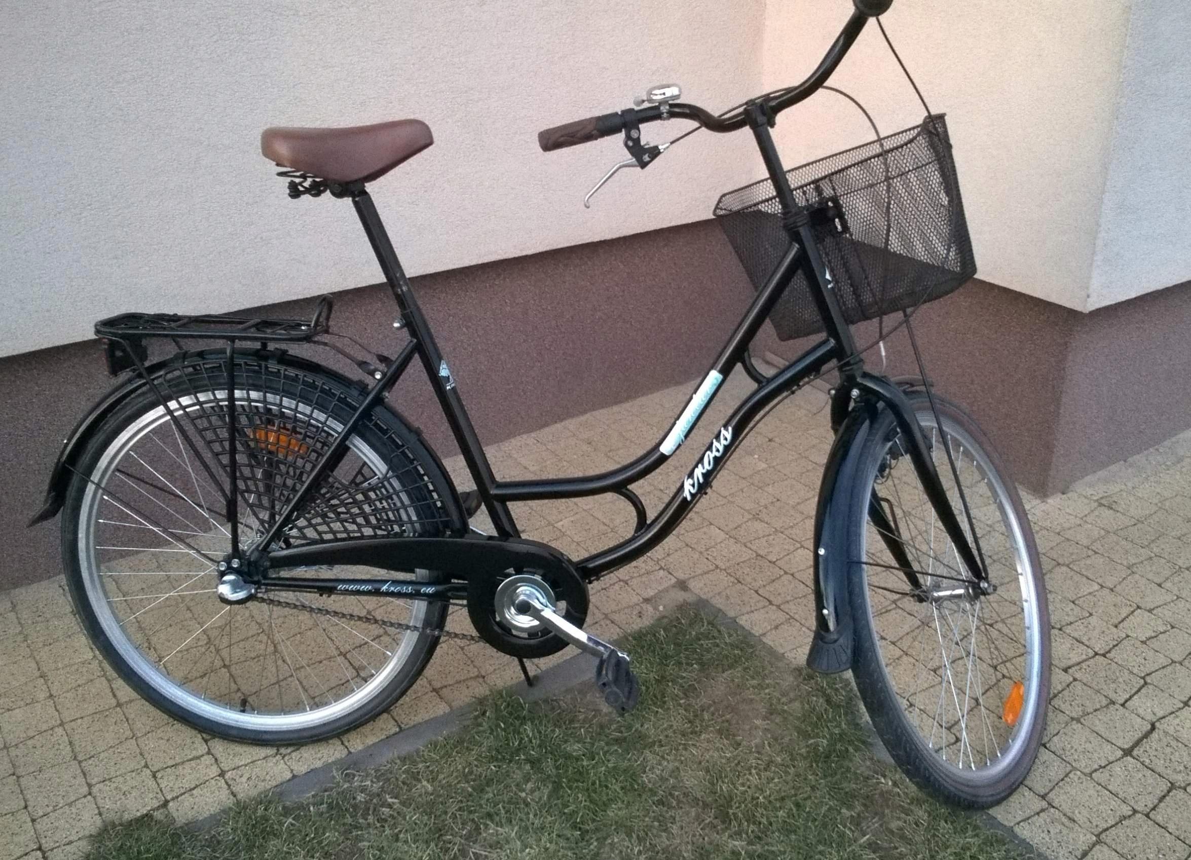 Damka Kross rower miejski Jantar Nexus 3-biegi tan