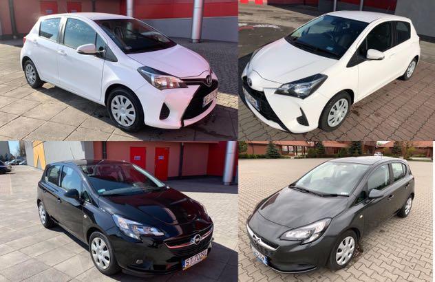 Wypożyczalnia samochodów, przyczep i kierowców
