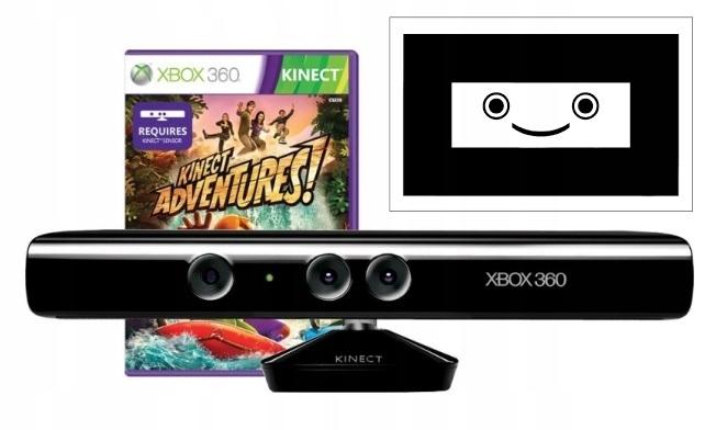 Kinect GRA Adventures Karta Sensor Xbox 360 OD AHS