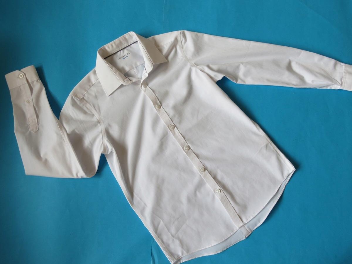 M&S - Super biała galowa koszula - 146 cm.