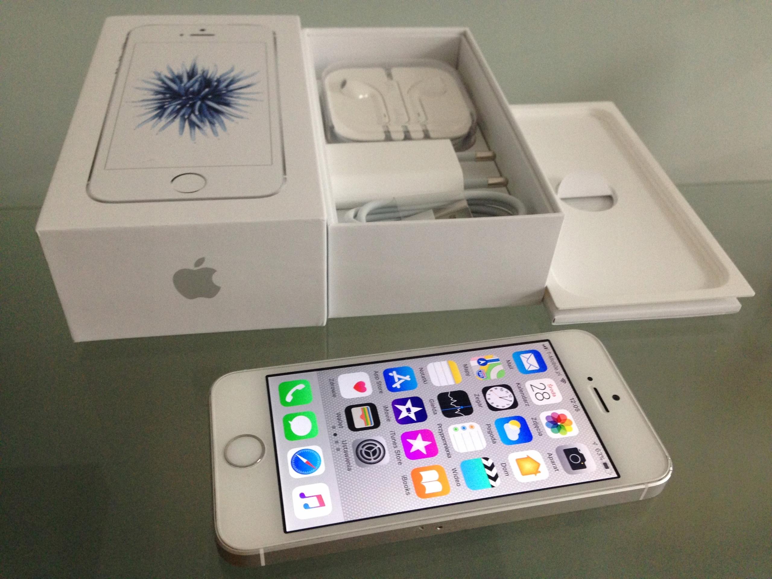 iPhone SE 32GB biały