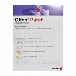 Olfen Patch plastry lecznicze 2 sztuki