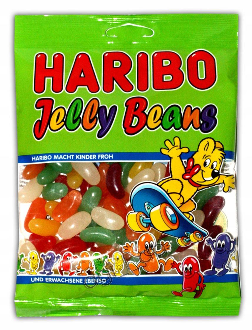 HARIBO JELLY BEANS FASOLKI 175g W SUPER CENIE!!!