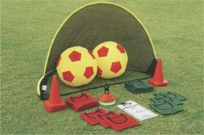 Duży zestaw do gry w piłkę nożną do zabawy