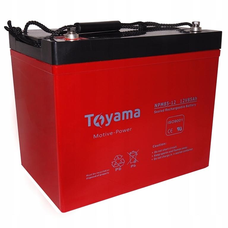 Akumulator ŻELOWY AGM TOYAMA 85Ah 12V Deep Cycle