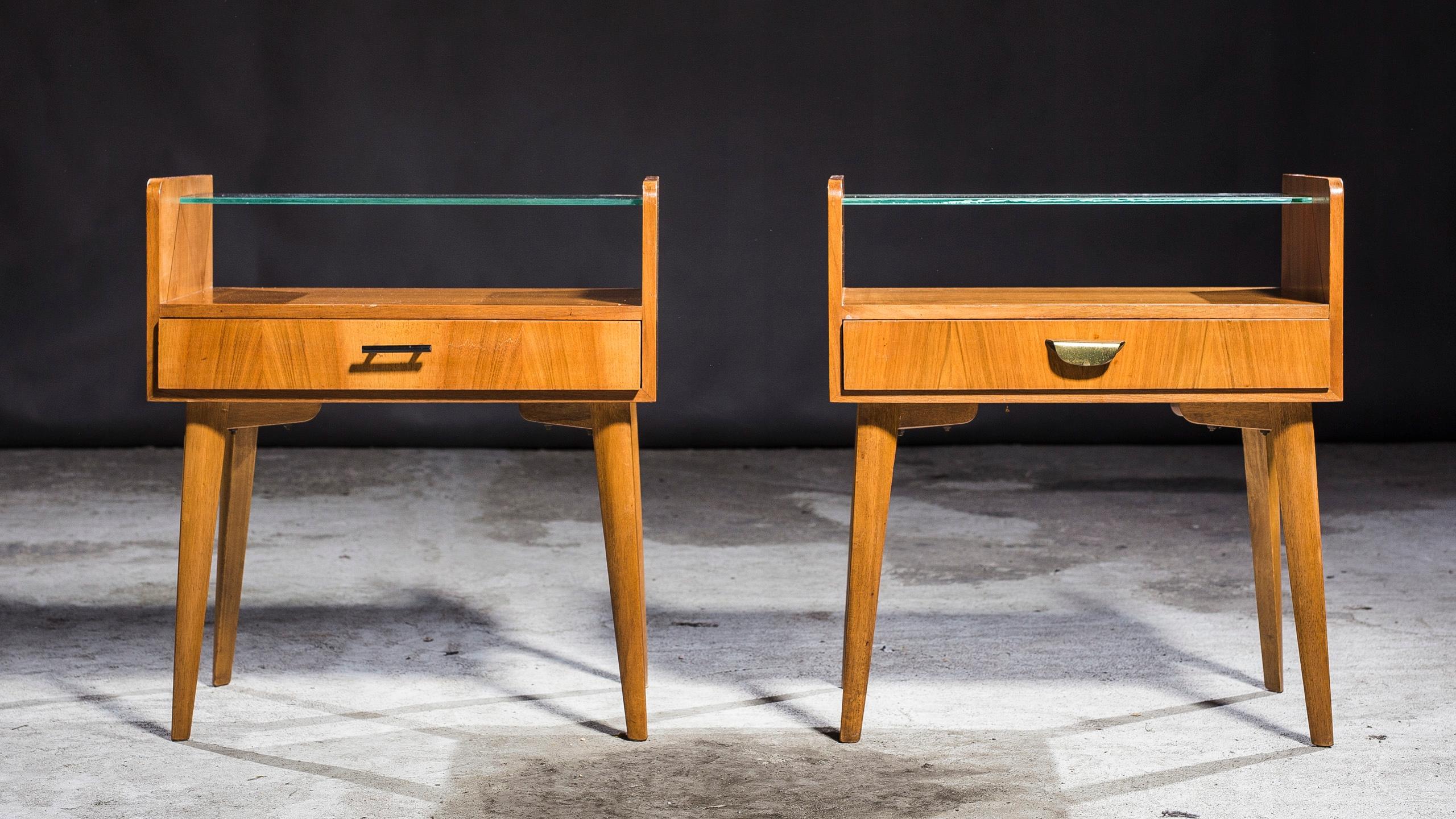Szafki Nocne Vintage Design Retro Wk Mebel 7872269346