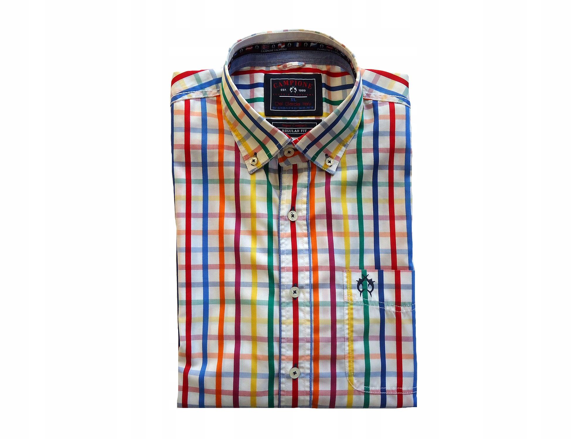 CLAUDIO CAMPIONE elegancka koszula XL BDB SAILING