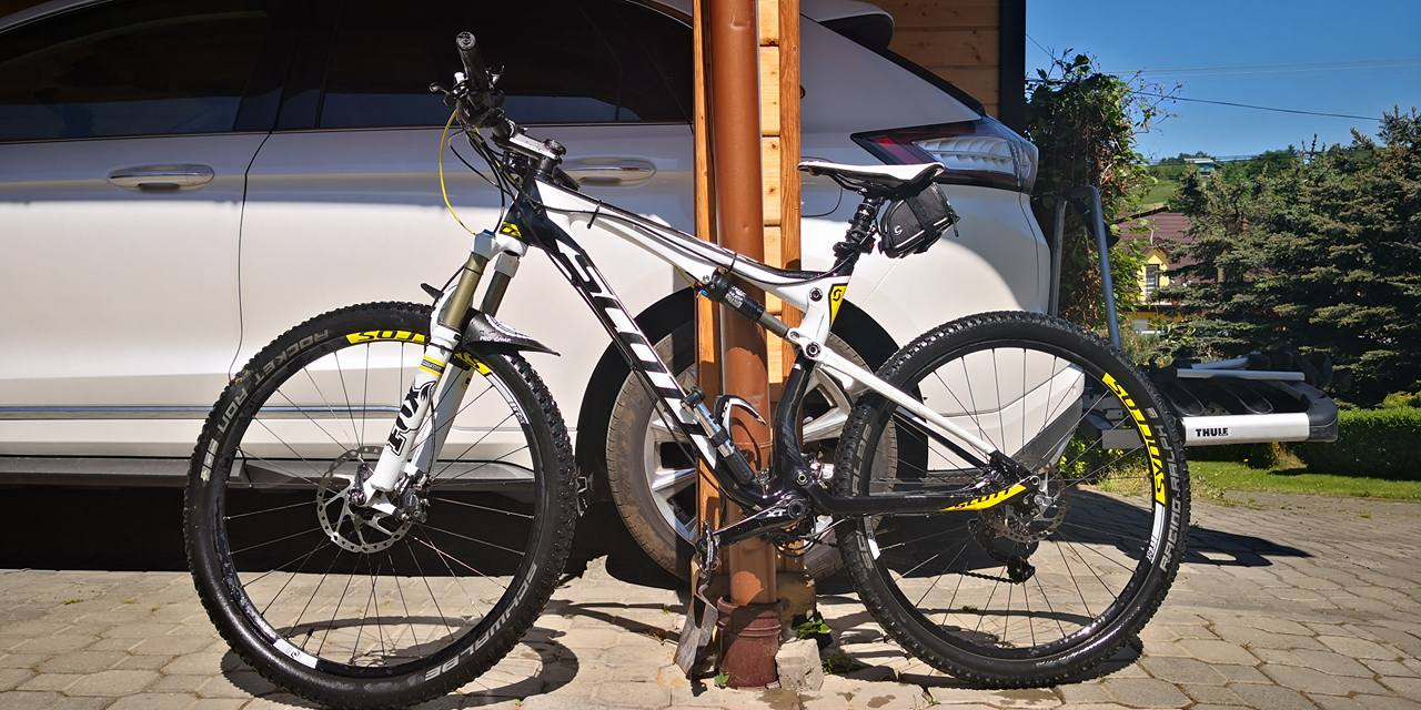 Rower MTB Scott Spark 720 carbon 2015 Full suspens