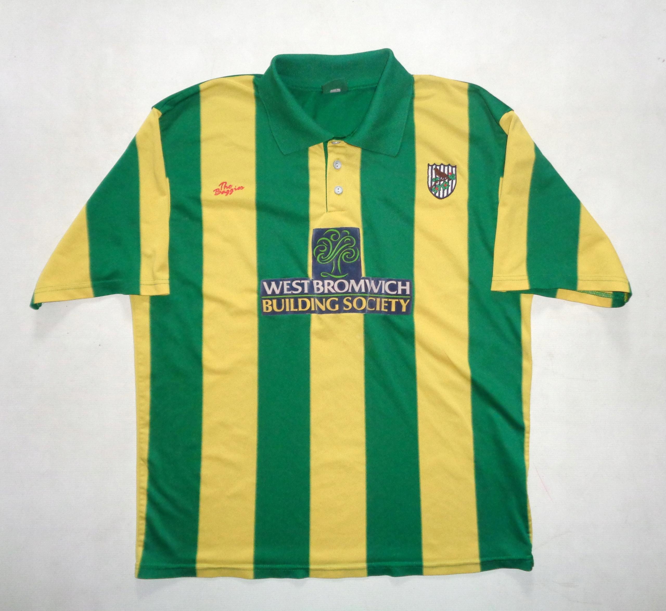 WEST BROMWICH The Baggies koszulka piłkarska - XL