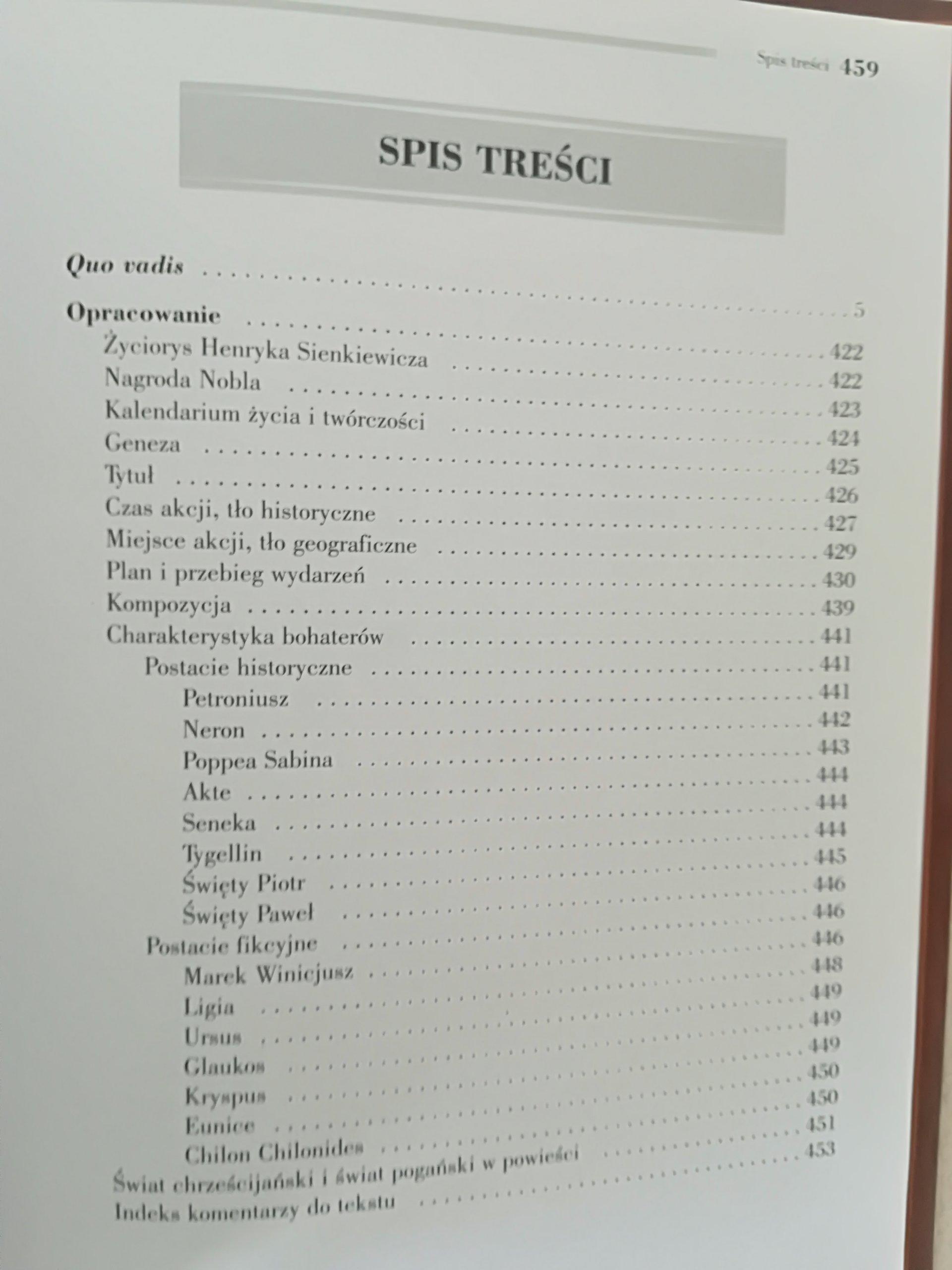 Quo Vadis Henryk Sienkiewicz 7258473586 Oficjalne Archiwum Allegro