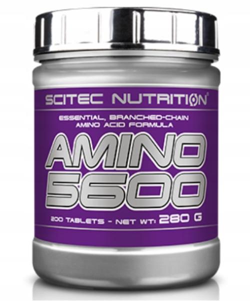 Scitec Amino 5600 200tabs - Aminokwasy Regeneracja