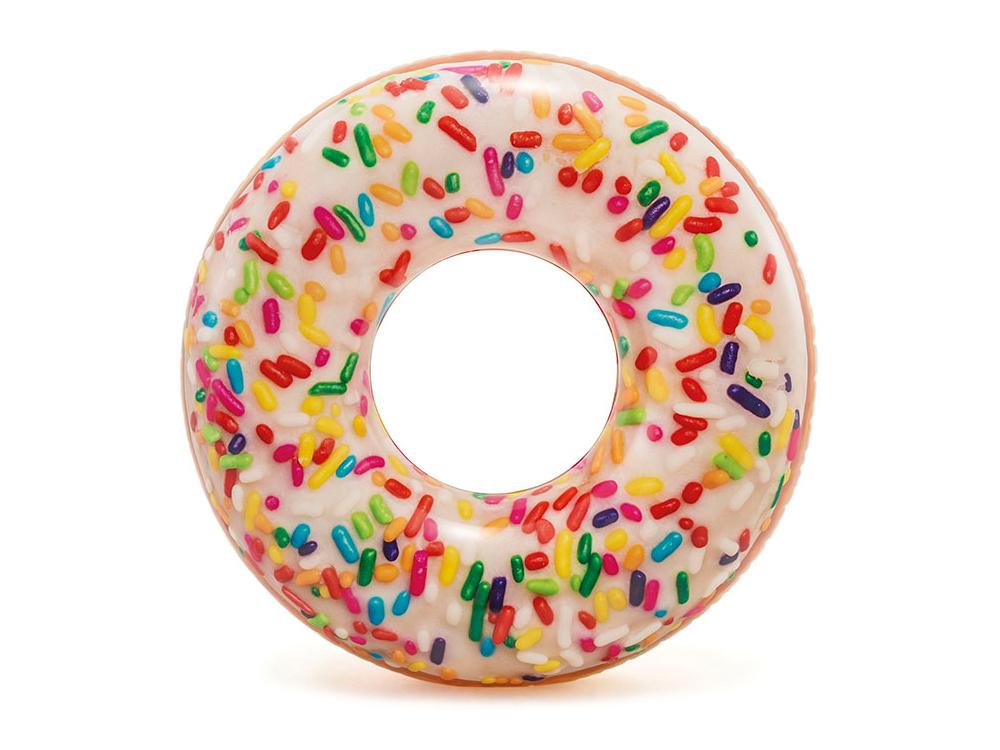 kółko KOŁO DO PŁYWANIA słodki donut śr.114cm INTEX