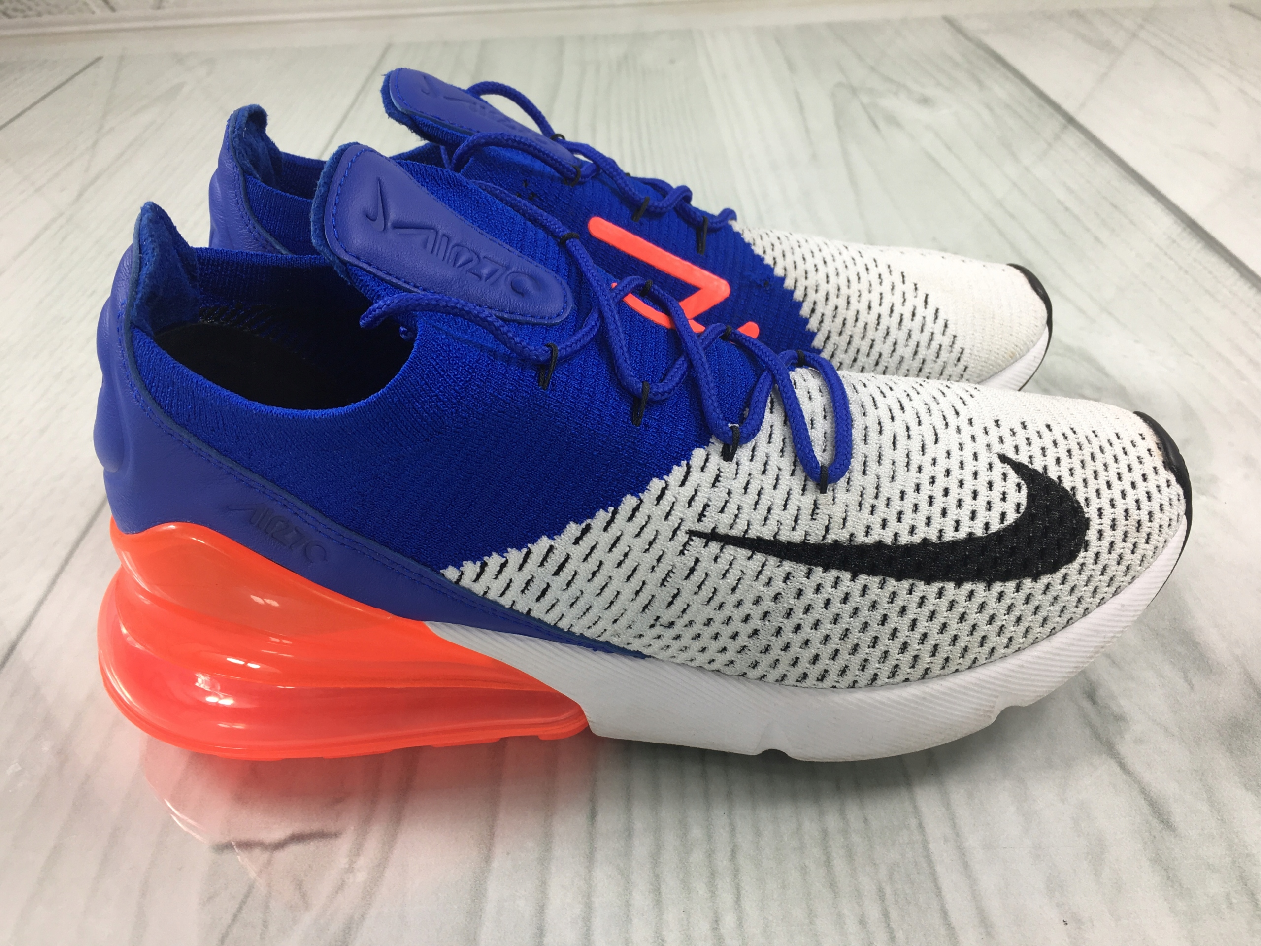 BUTY NIKE AIR MAX 270 FLYKNIT R.42.5 AO1023 101