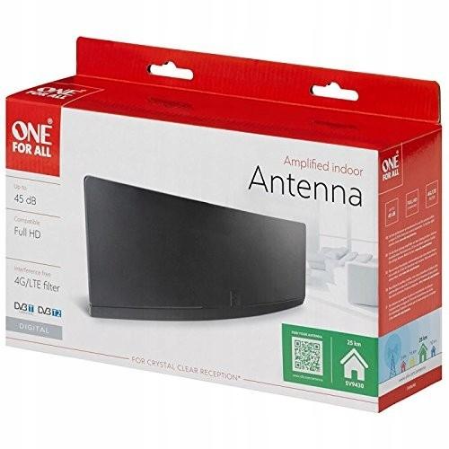 Antena wewnętrzna OFA wzmocnienie 45db z