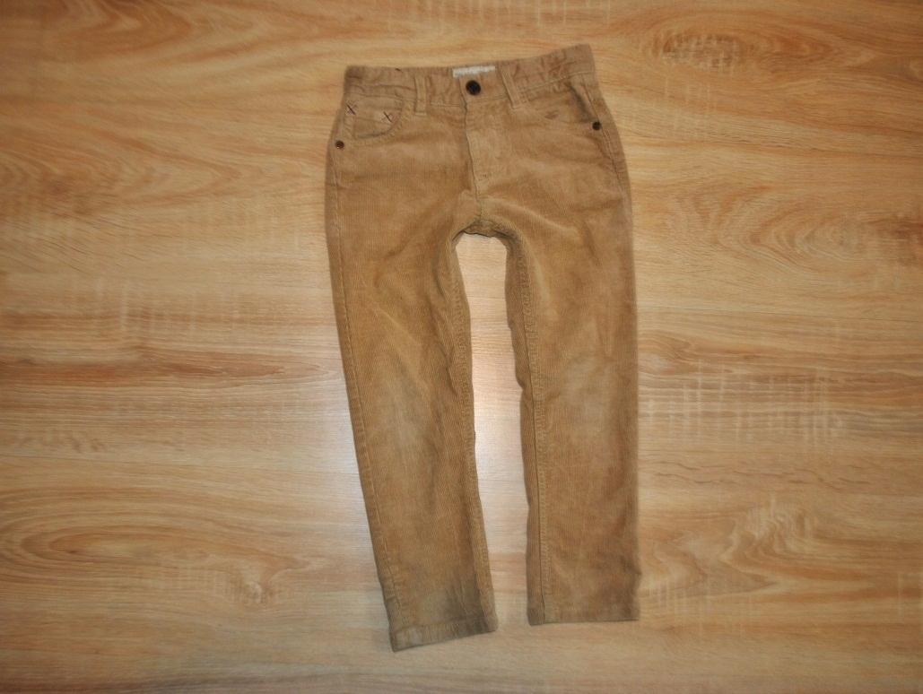 ZARA BOYS stylowe spodnie RURKI 110