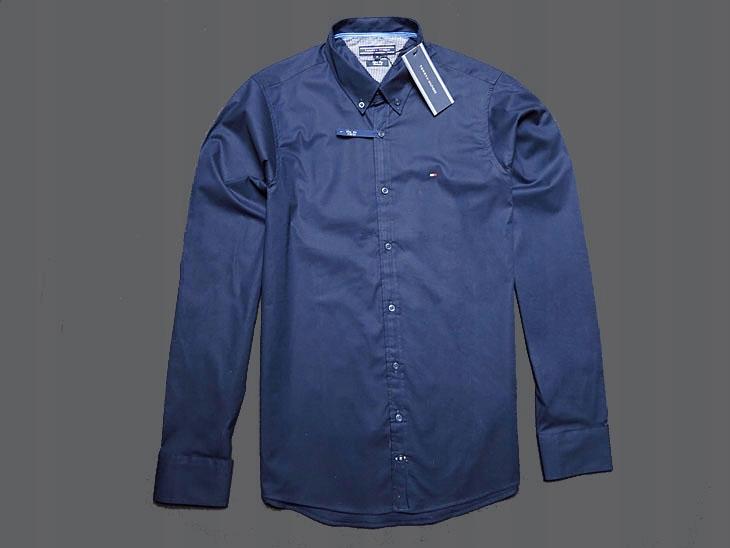 Koszula z Długim Rękawem TOMMY HILFIGER Slim Fit L