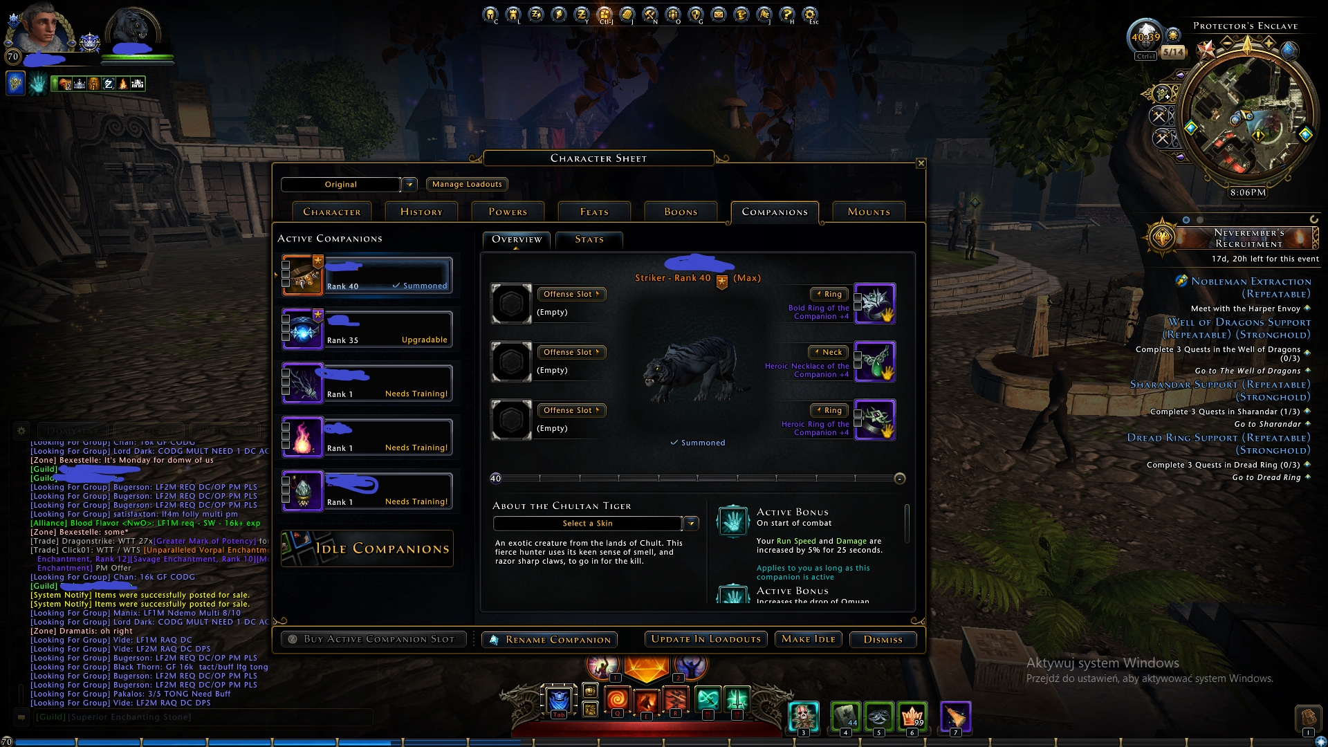 Neverwinter Online PC - Konto TR - 7738154994 - oficjalne