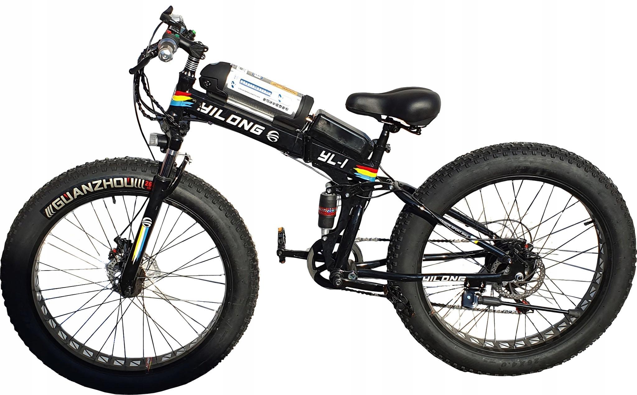 Rower Elektryczny Fat Bike 1500W 48V MEGA POWER!!!
