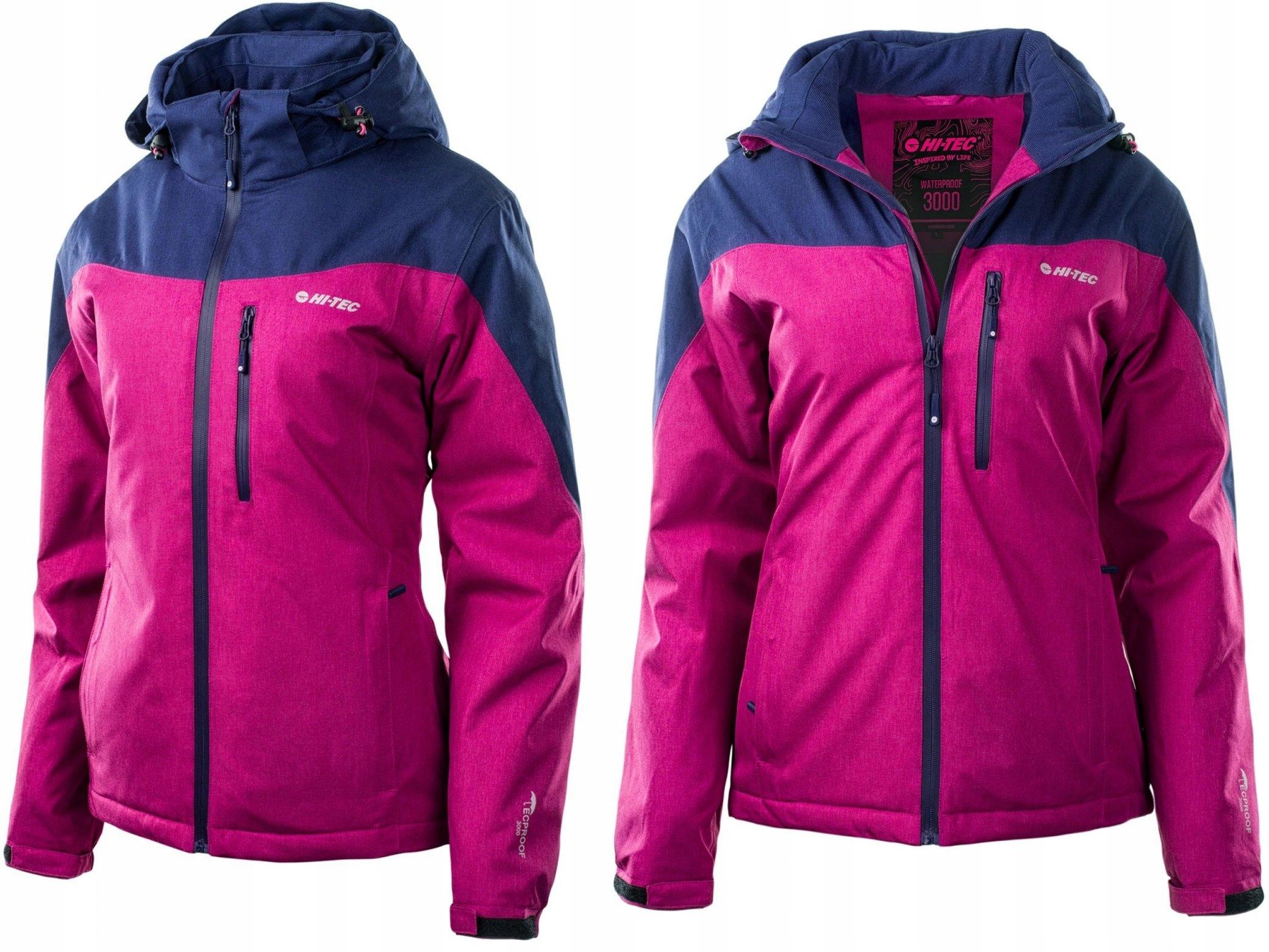 sportowa odzież sportowa wysoka moda sprawdzić HI-TEC LADY OREBRO KURTKA DAMSKA NARCIARSKA - M - 7258295586 ...