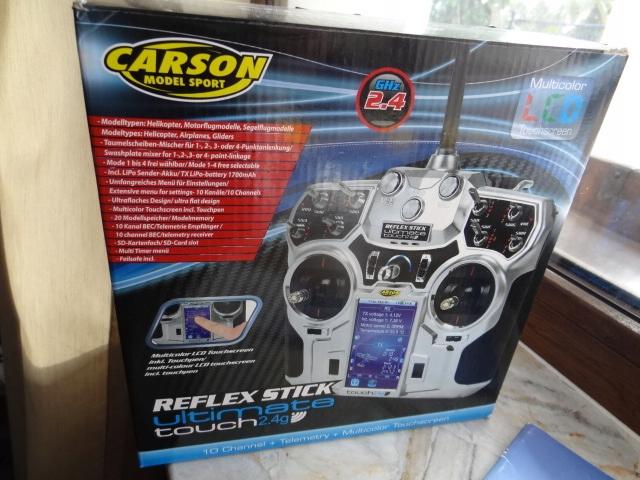 Aparatura Carson Reflex Stick UltimateTouch 2,4G