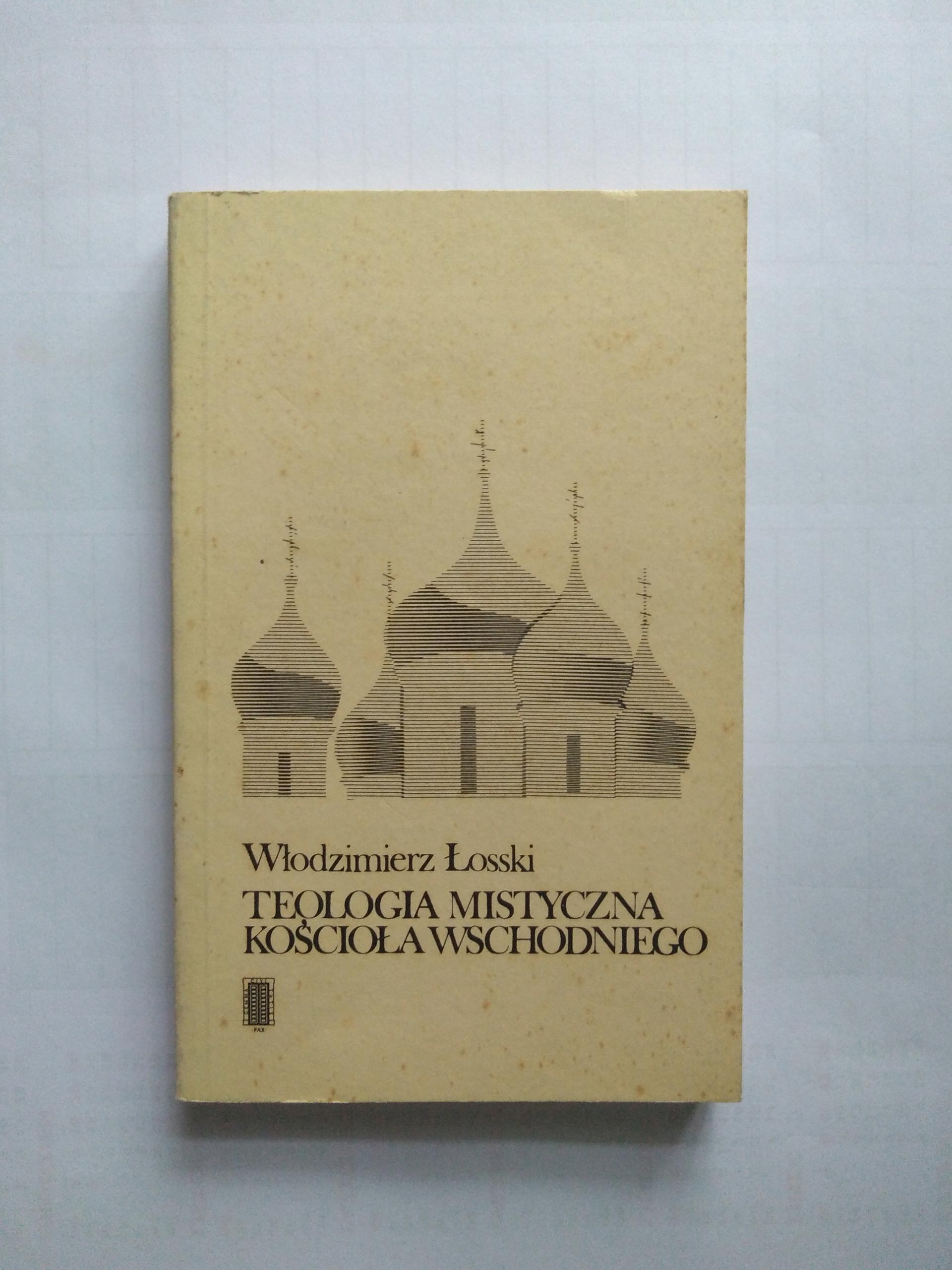Łosski Teologia mistyczna Kościoła wschodniego BCM