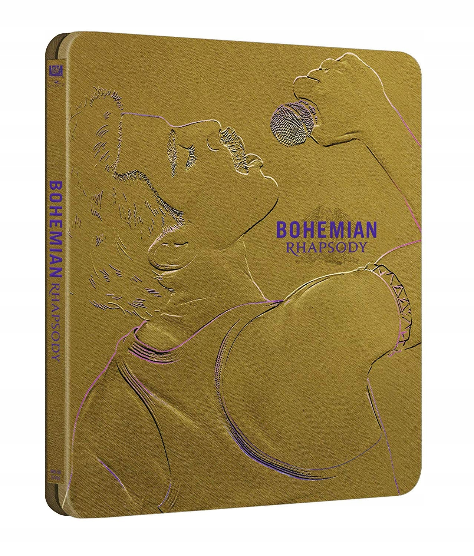 Bohemian Rhapsody Steelbook Blu-Ray lektor nap. PL