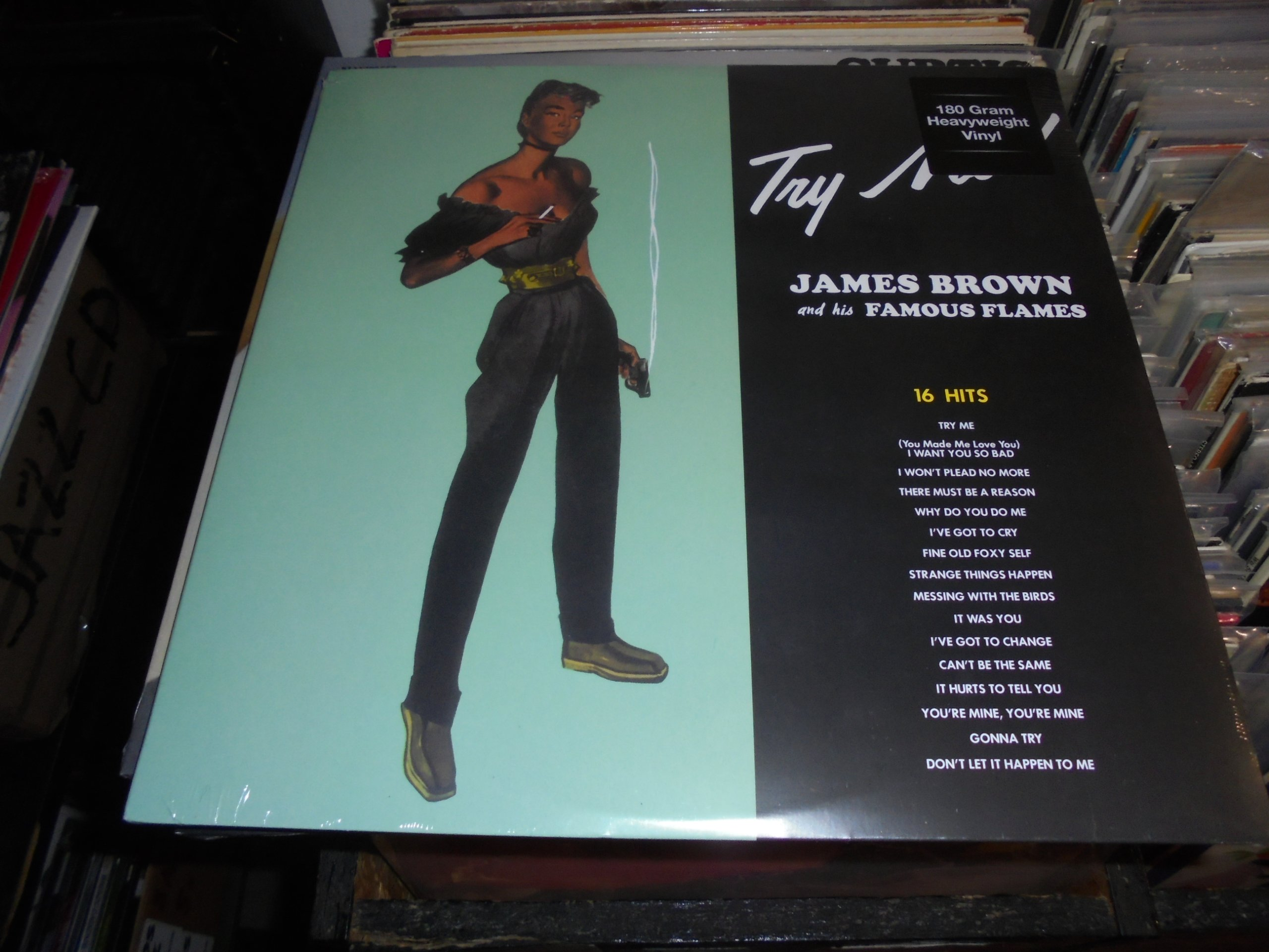 JAMES BROWN TRY ME! LP NOWA FOLIA