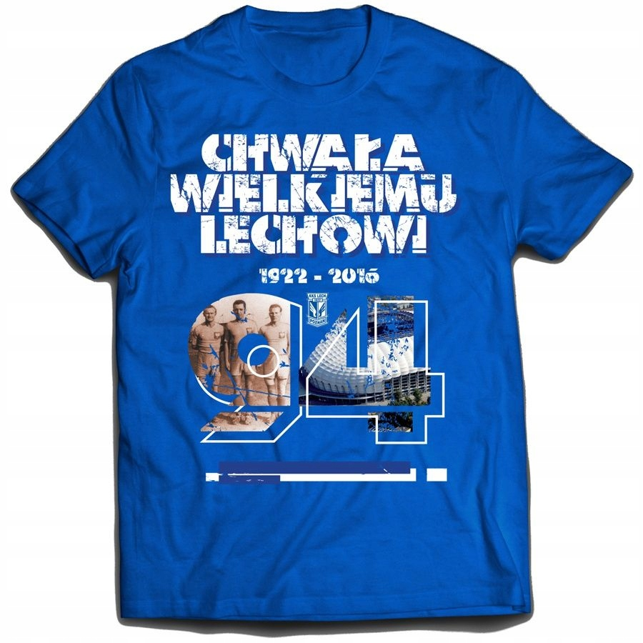 Koszulka Rocznicowa 94 Lata niebieska S niebieski