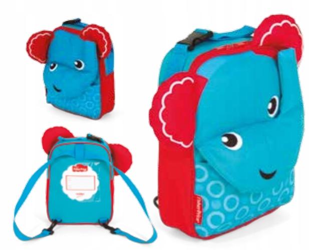 Plecak 3w1 Fisher Price - Słoń 3D