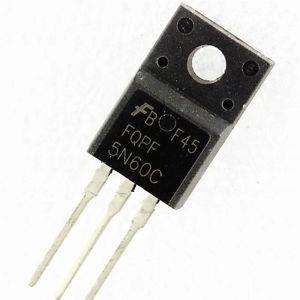 Tranzystor polowy FQPF5N60C
