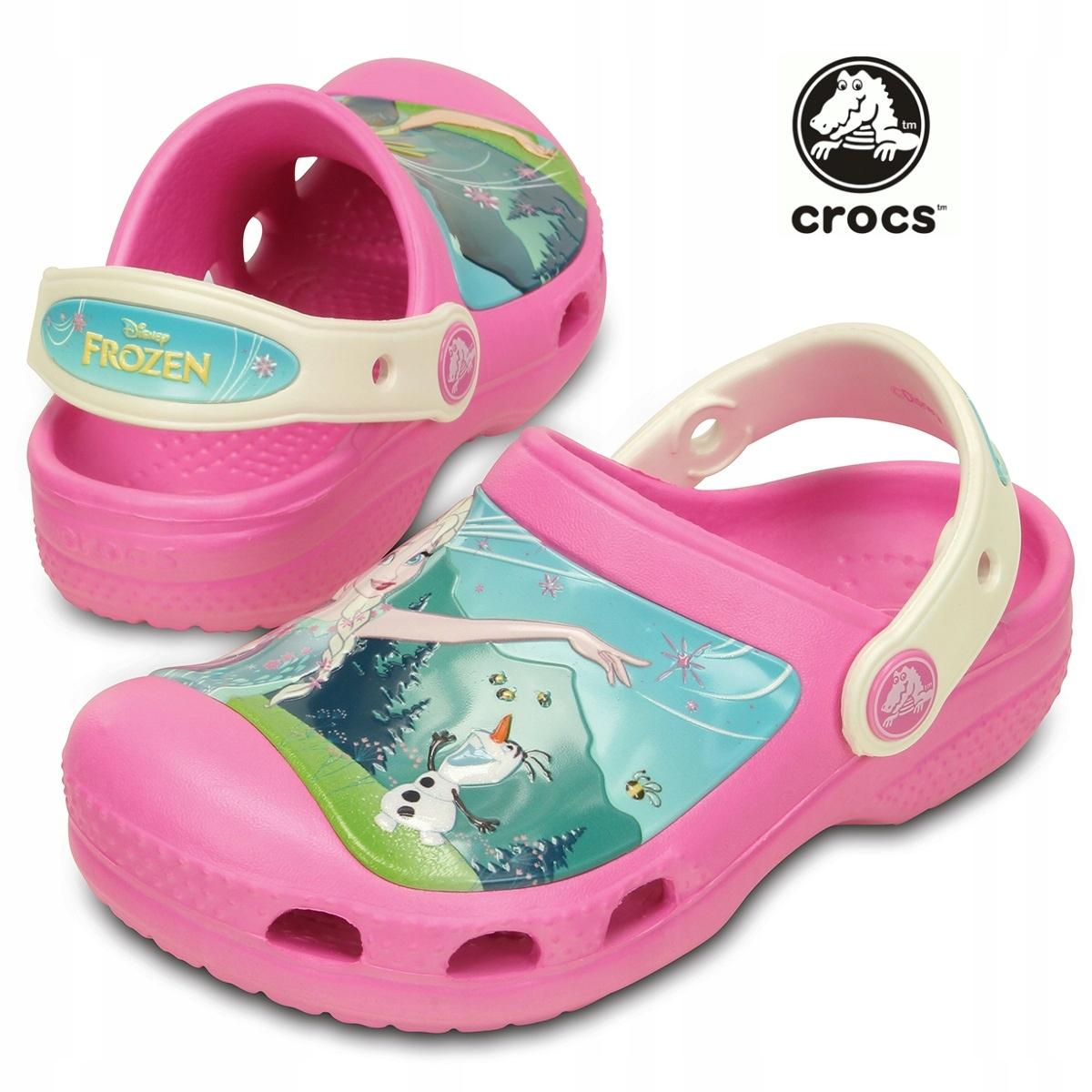 Crocs nowe Frozen roz. 34/35 J3 Elsa Anna