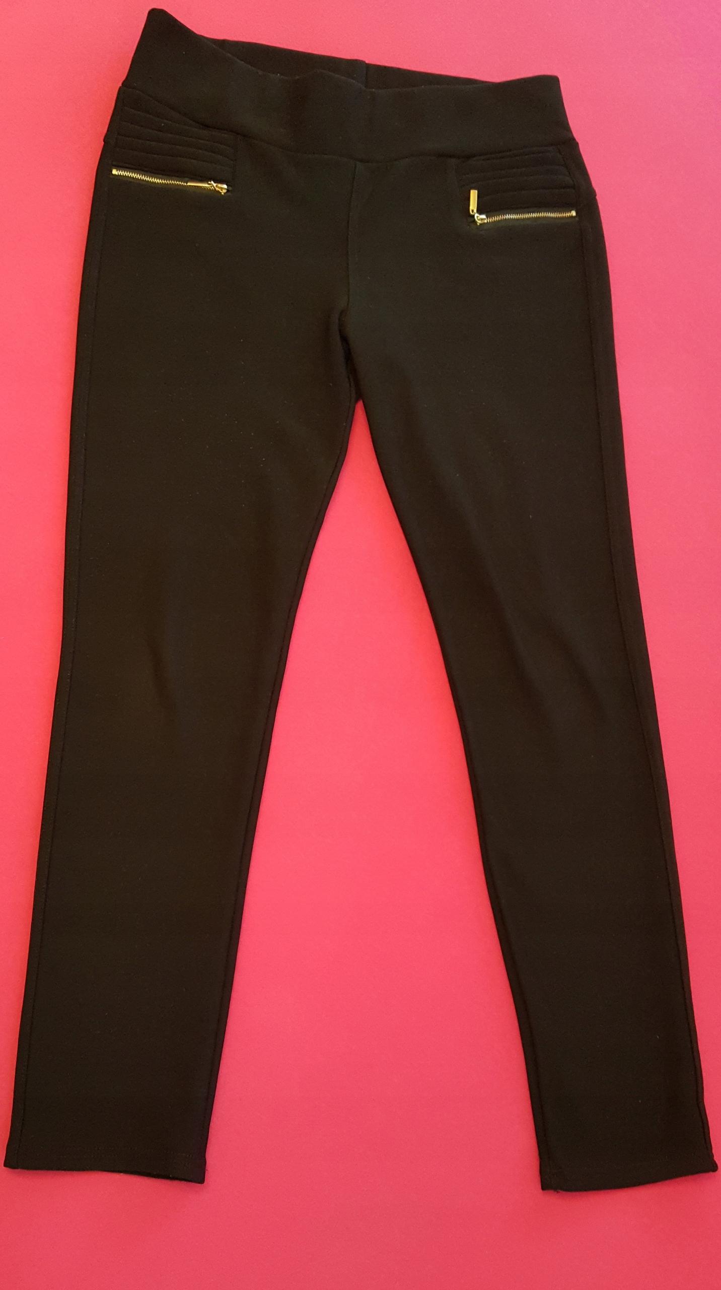 Ciepłe legginsy ciążowe pod brzuszek, rozmiar M