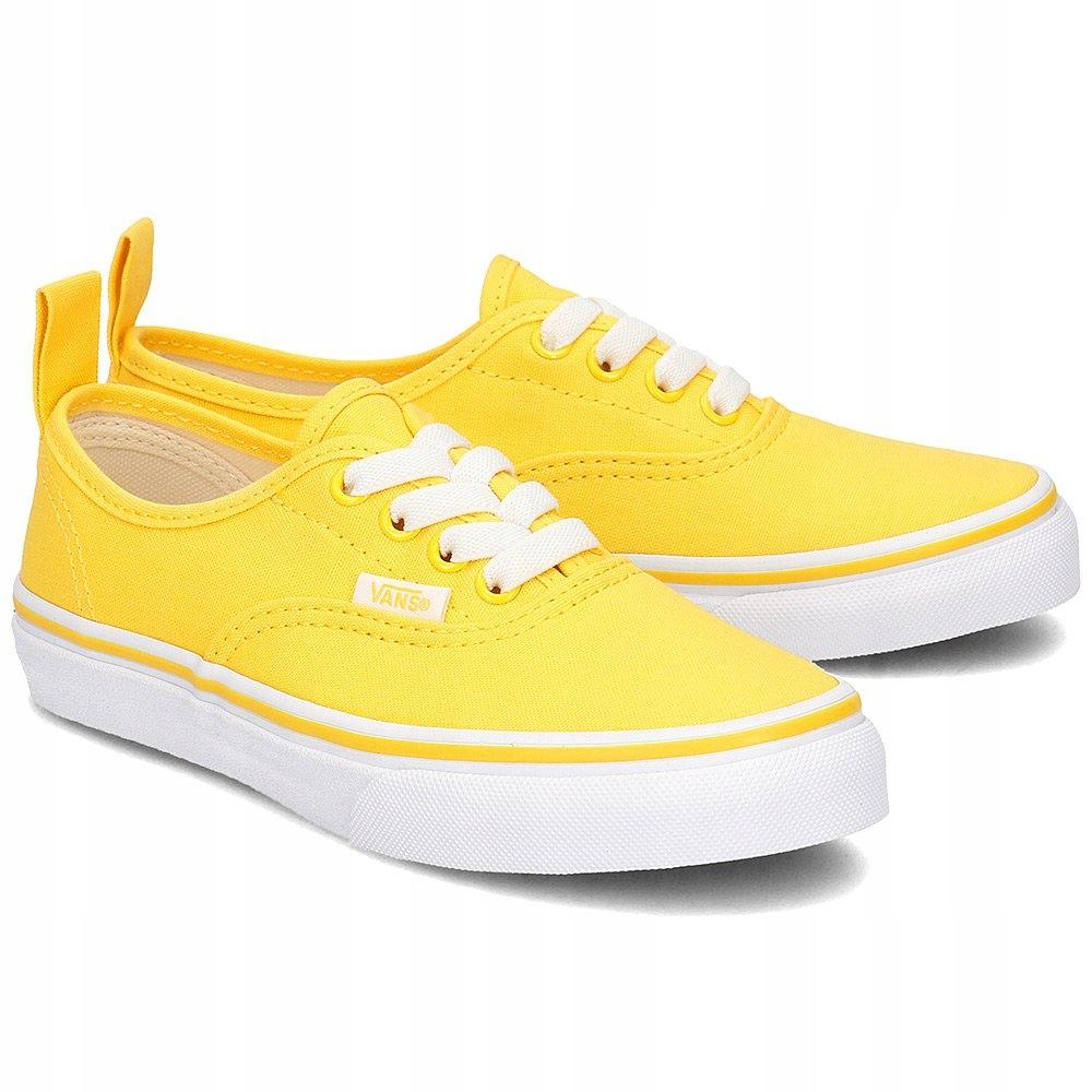 VANS Authentic Trampki Żółte R.34