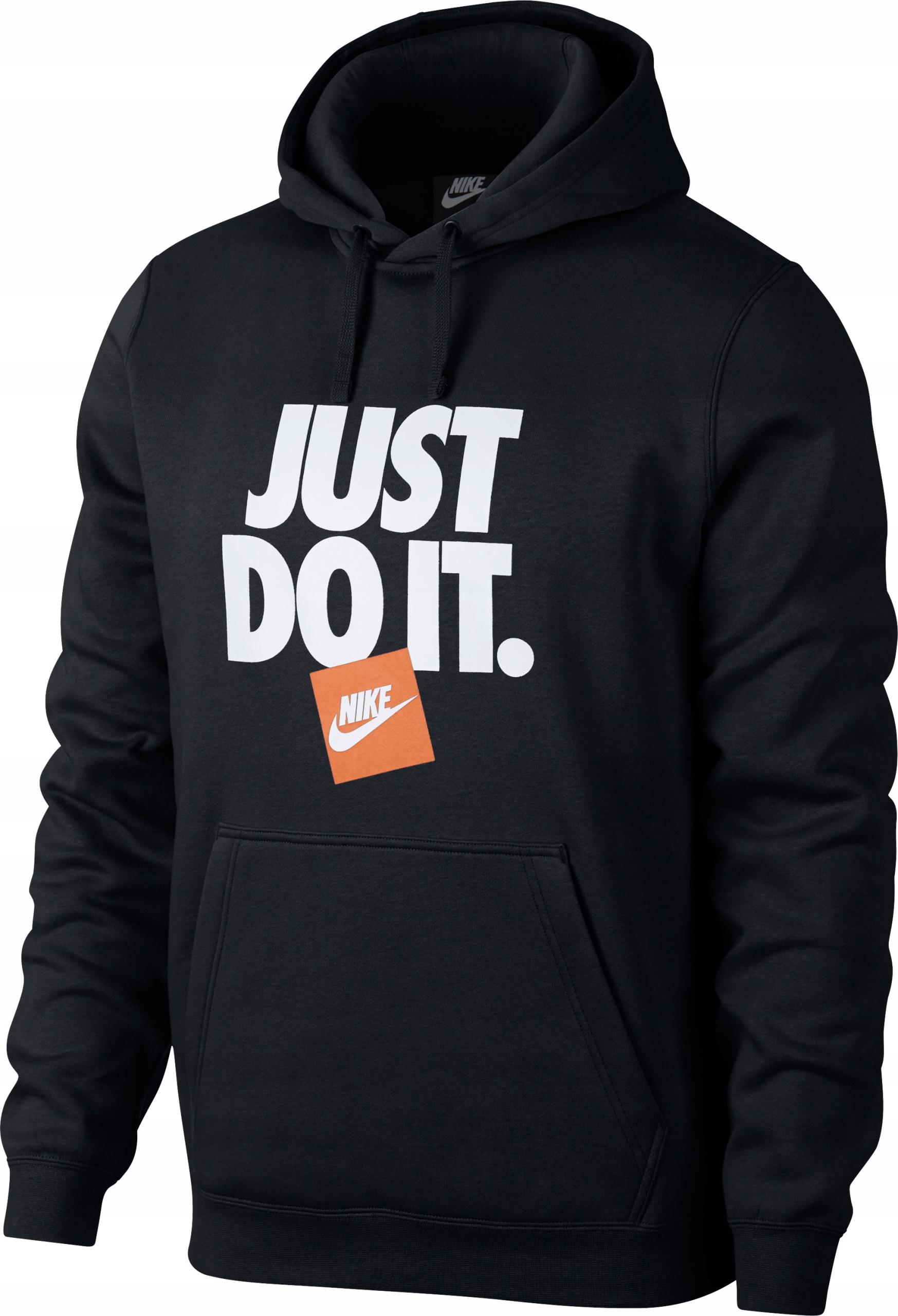 sklep internetowy Pierwsze spojrzenie później Bluza Nike Sportswear JUST DO IT AR2578-010 r.L - 7932200261 ...