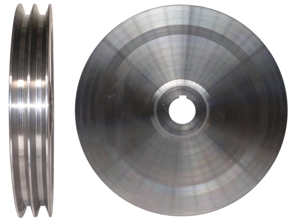 Koło pasowe fi 300 2B paski 2x17mm 20kg Rębaki24