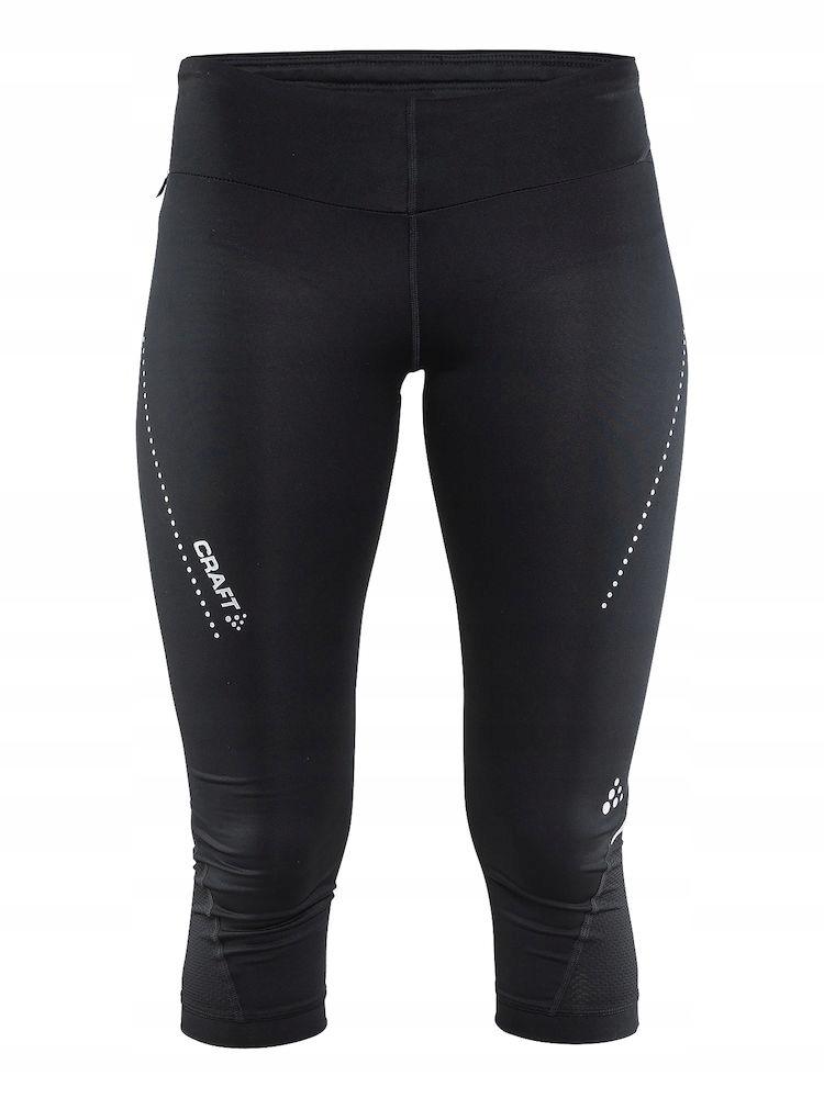 CRAFT Essential Spodnie 3/4 damskie do biegania L