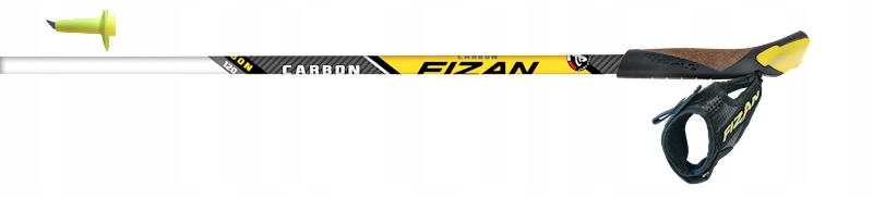 Kije nordic walking Fizan Race Carbon 80% 135 cm