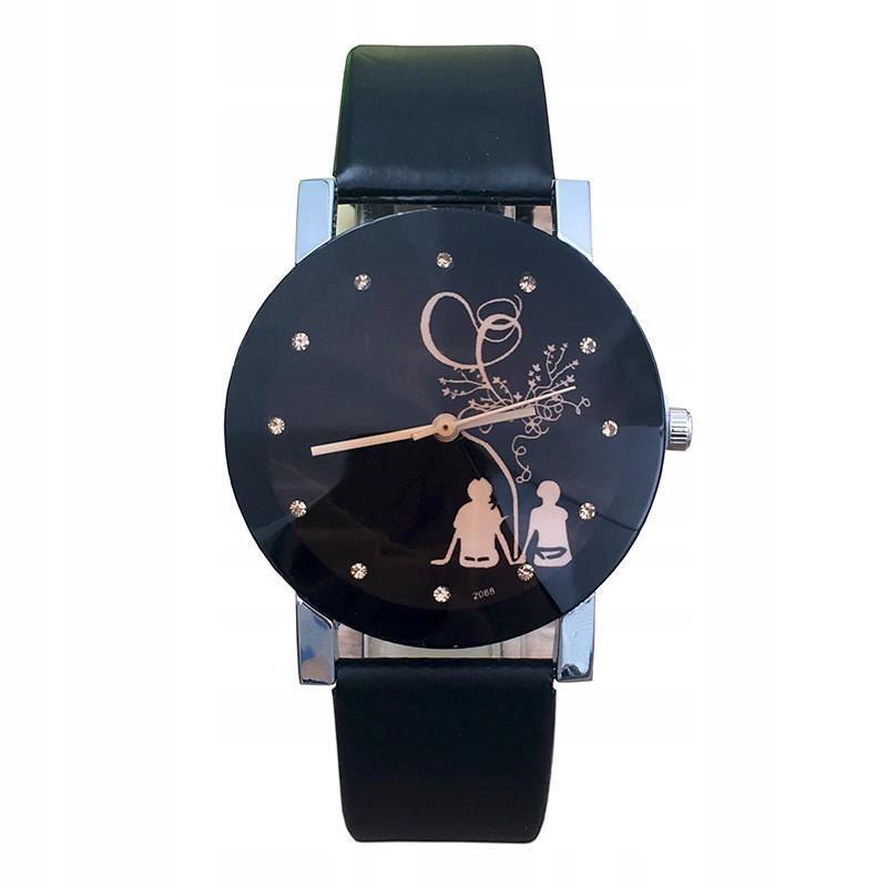 Zegarek DIAMENT czarny nowy