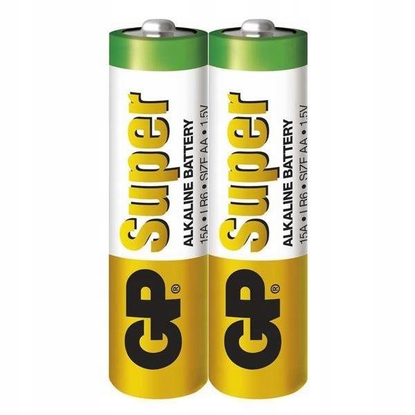 Bateria alkaliczna, AA, 1.5V, GP, Folia, 2-pack, S
