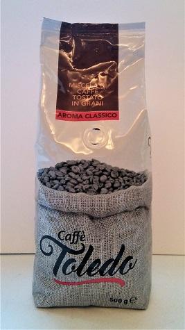 Sama robusta Mocna kawa TOLEDO Aroma Classico 500g