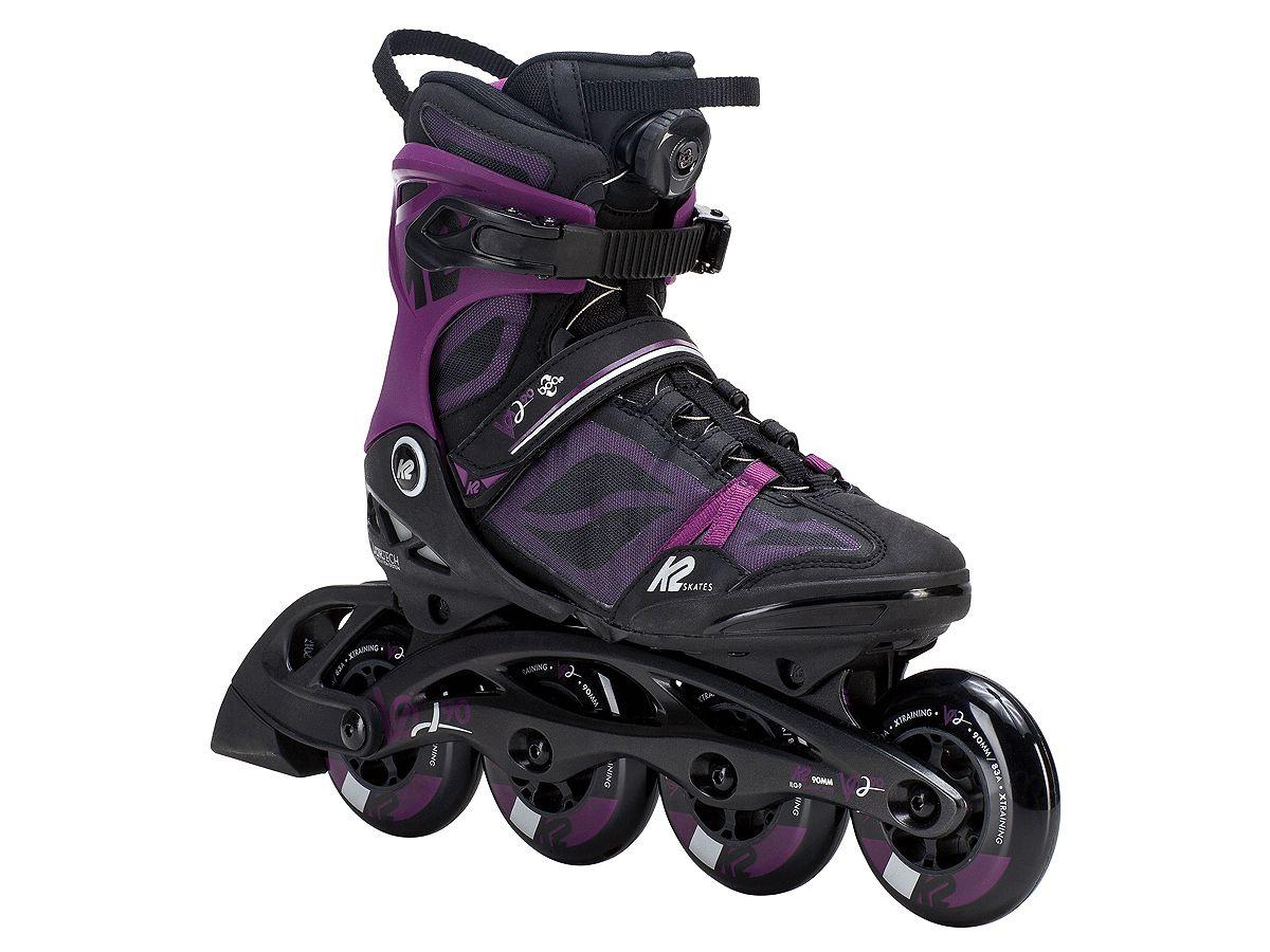 K2 Rolki damskie VO2 90 BOA W black-purple - 40