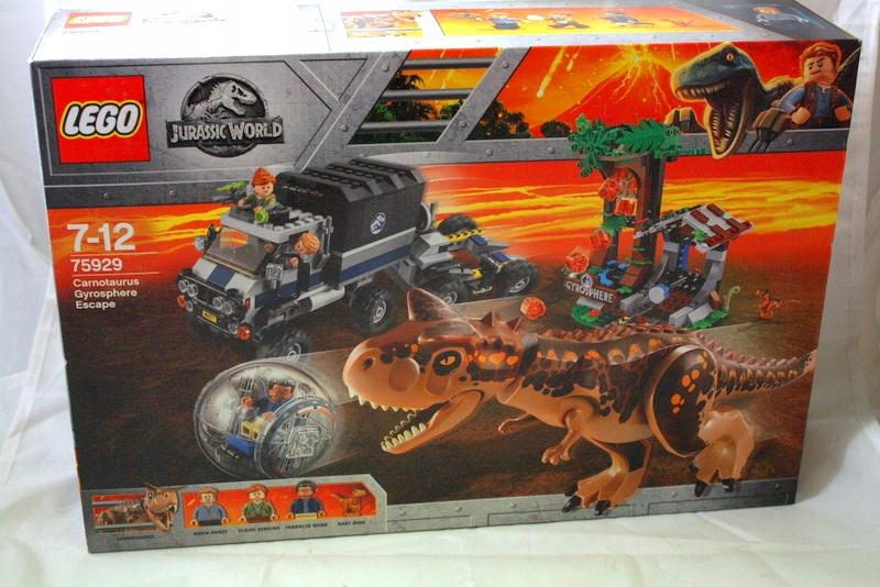 KLOCKI LEGO JURASSIC WORLD UCIECZKA PRZED KARNOTA
