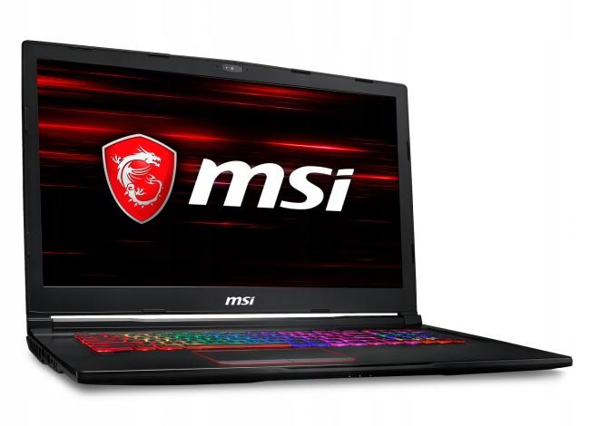 MSI GE73 Raider RGB 8RE-490PL - 120GB SSD